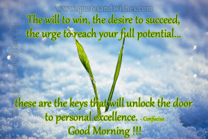 motivational good morning message Motivational Good Morning Picture ...