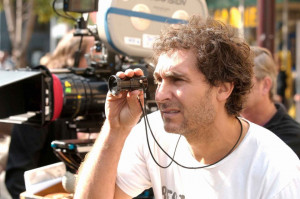 Director Doug Liman on the set of JUMPER. Photo Michael Gibson. TM and ...