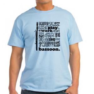 bassoon t-shirts