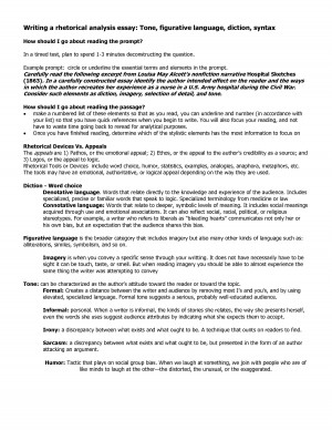 rhetorical analysis essay tone Rhetorical analysis essay - free download as word doc (doc it is a special kind of rhetorical strategy because tone is created by the writer's use of all of.
