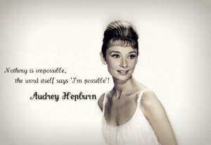 Inspiration by Audrey Hepburn