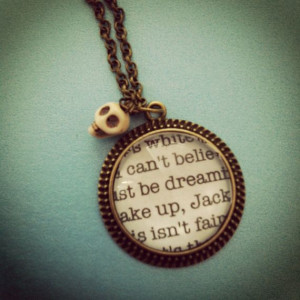 nightmare before christmas jack skellington quote by 2tinyhearts, $25 ...