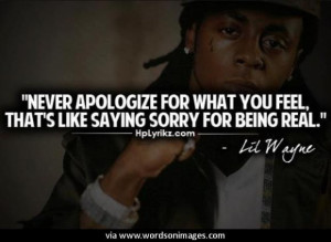 Quotes by lil wayne