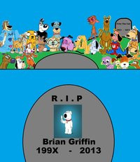 Death of Brian Griffin Images