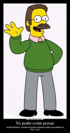 Ned Flanders Meme Carteles ned flanders