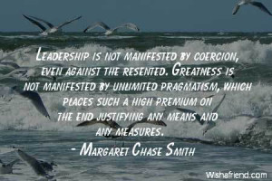 Margaret Chase Smith Quotes