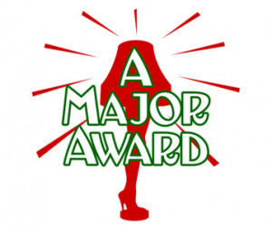 Christmas Story Leg Lamp Major Award T-Shirt