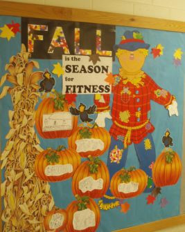 Pumpkin Fall Activity Bulletin Board Display