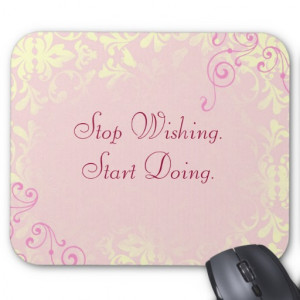 Vintage Romance Quote Mantra Mousepad