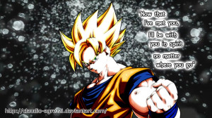 Goku Quotes