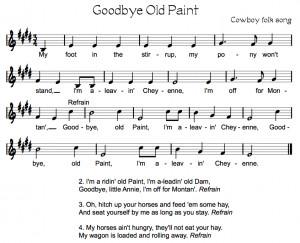 Good Bye Old Cowboy