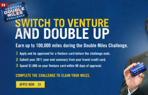 The Sweet of the Capital One 100,000 Double Miles Challenge