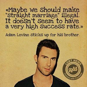 Marriage equality. If it's possible I love him more after reading this ...