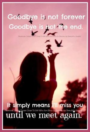 Until we meet again.