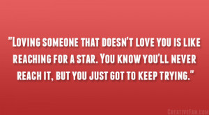 to stop loving someone because they ve stopped loving you