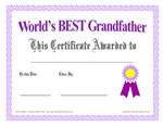 Printable Awards, Certificates and Diplomas