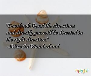 Doorknob Quotes
