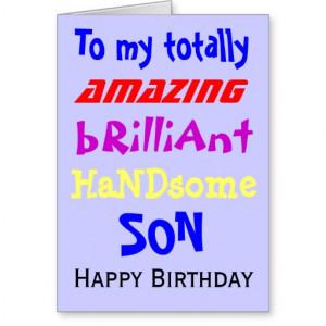 son happy birthday