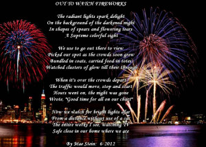 Poems About Fireworks