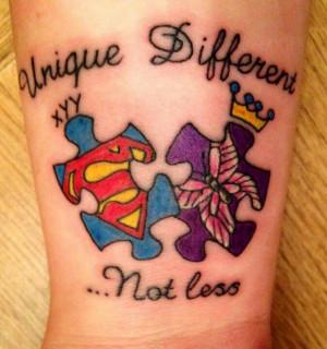 Autism Tattoo - Autism Awareness