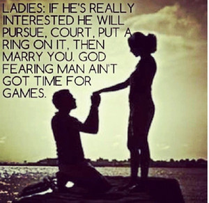 Put a ring on it!!!! Real men