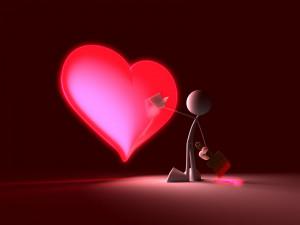 Corazón de Amor para el Día de San Valentín 14 de Febrero