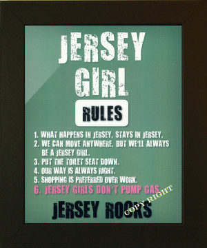 JERSEY GIRL RULES