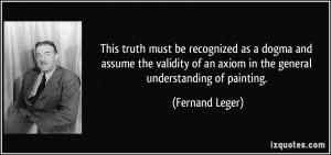 More Fernand Leger Quotes