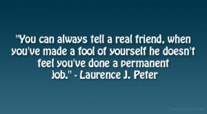 laurence j peter quote
