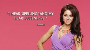 hear spelling and my heart just stops beauty quote