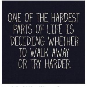 Usually i just walk away....