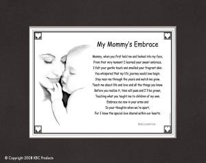My Mommy's Embrace