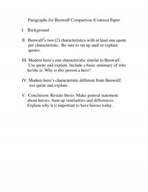 Beowulf Poem Summary Analysis