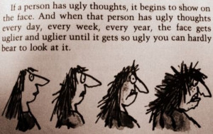Good old Roald Dahl in The Twits
