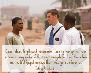 Lds Missionary Work Quotes