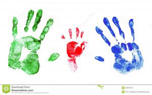 Baby Handprints Clip Art. Baby Handprint Quotes. View Original ...