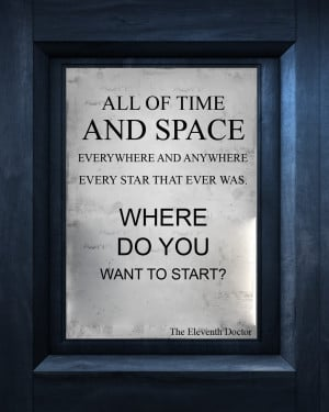 Doctor Who Quotes About Time by Doctor Who Quotes