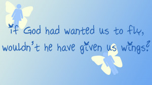 Blue Wings Wallpaper 1920x1080 Blue, Wings, Quotes, Peace, God ...