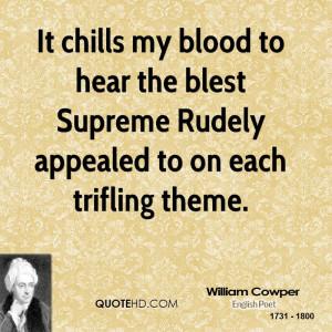 William Cowper Quotes