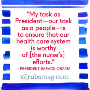 ... this President Obamas Inspiring Quotes About Nurses For Week picture
