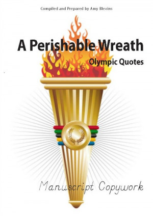 ... , and you'll receive a free download of Olympic Quotes Copywork