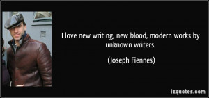 love new writing, new blood, modern works by unknown writers ...