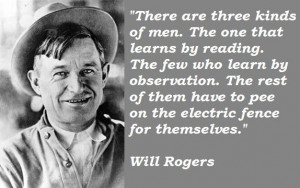 will rogers quotes | Will Rogers quotations, sayings. ~ Trying to find ...
