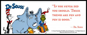 Dr. Seuss Quote, 64 Inch BoxJump, Giveaway Winner