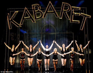 Cabaret - Savoy Theatre - Friday 7 December ***