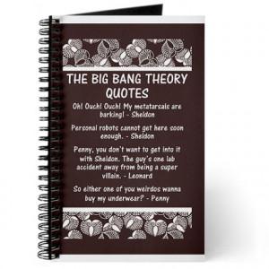 big bang theory quotes gifts big bang theory quotes journals spiral ...