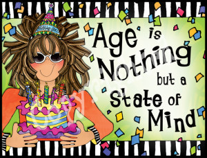 Suzy Toronto Age Is A State Of Mind Note Cards