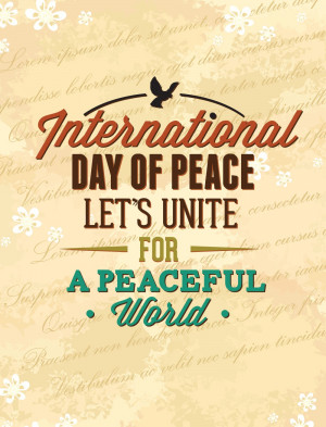 Peace Quotes And Sayings Day of peace [greetings,