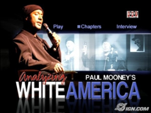 paul mooney and race