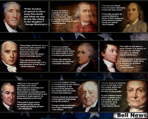 Like the Founding Fathers' quotes? Like kool desktop wallpaper?Why not ...